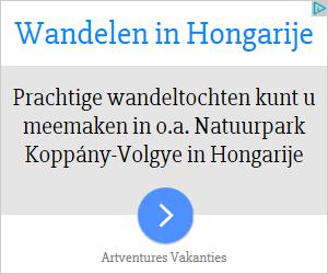 Vakantie Wandelen in Hongarije advertentie NL