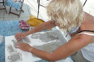 Malen Gemälde Mosaik Wil kreativ