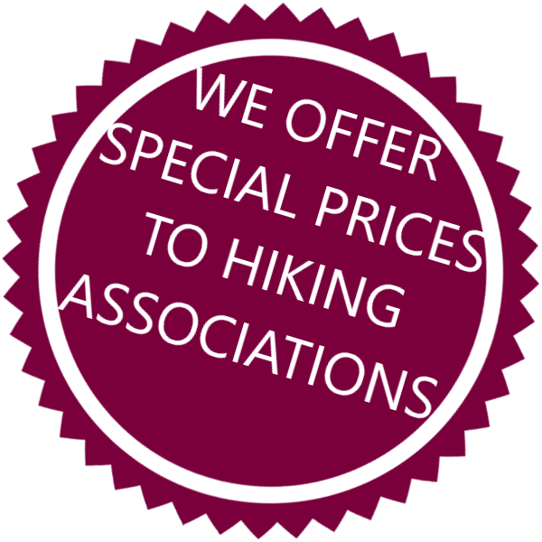 Hiking star Special prices walking associations