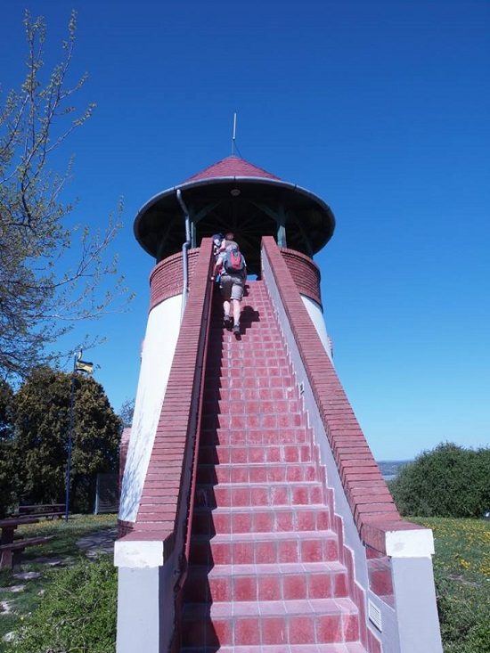 Hiking watchtower at Szantod - Siofok