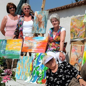 Painting Holiday Annerie Mol Artventures