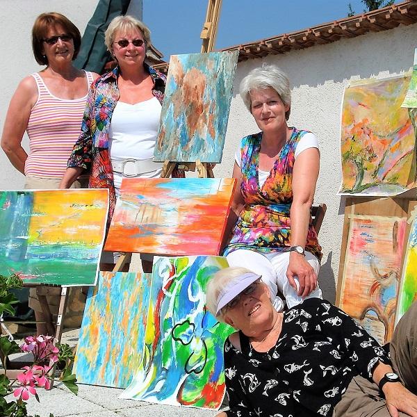 Schilderen Vakantie Annerie Mol Artventures