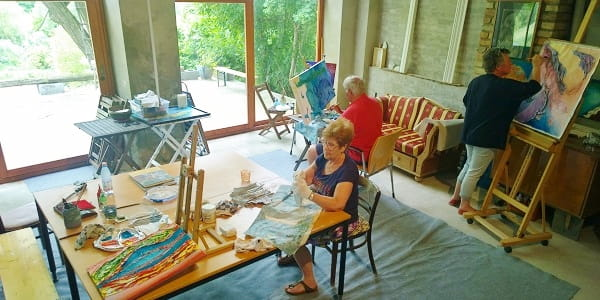 Painting holidays in Hungary Artventures