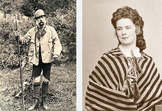 Franz Joseph und Elisabeth (Sissi von Östereich, Königin von Ungarn)
