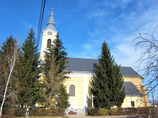 Catholic church Törökkoppány